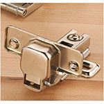 Euro Style 110 Inset Hinges - Pair
