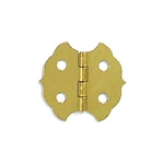 Brass Plated Hinge - 1 1/8