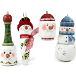 Chris Haughey - Snowmen Ornaments Packet