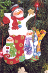Holly Hanley - Jolly Snowmen Packet & Ornament