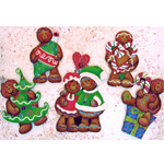 Holly Hanley - Ginger Christmas Ornies Packet