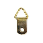 Hanger - Triangle Top-Brass Plated - 25pc