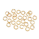 Jump Ring - 10mm Gold - 60pc