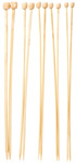 Bamboo Knitting Needles 5pc Set - Small