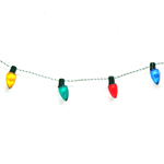 Transparent Bulb Garland - 72