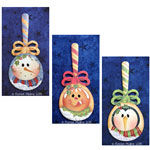 Renee Mullins Packet - Holiday Spoon Ornaments