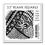 Blank Squares (25pc) - 3 1/2