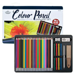 Color Pencil Drawing Set - 36pc