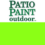 Patio Paint Neon Green - 2oz