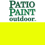 Patio Paint Neon Yellow - 2oz