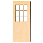 Door With Windows - 3