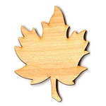 Waving Maple Leaf - 6 3/4
