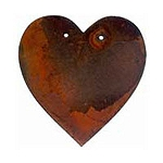 Rusty Shape - Heart - 4