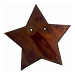 Rusty Shape - Star - 5