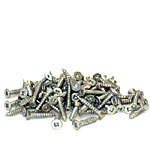 Wood Screws-#4 x 3/4