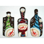 Laurie Speltz Packet - Twisted Snowmen Ornaments