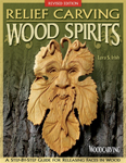 Relief Carving Wood Spirits by Lora Irish