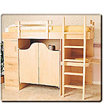 Plan-3-In-1 Bunk Bed