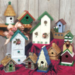 Plan-Decorative Birdhouses #3 (up to 13