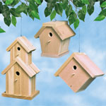 Plan-Cedar Birdhouses (up to 17