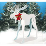 Plan-Large Christmas Moose (60