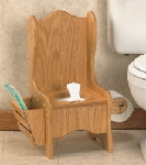 Plan-Oak Potty Chair (23