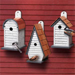Plan Decorative Birdhouses 3 Up To 13 Quot High