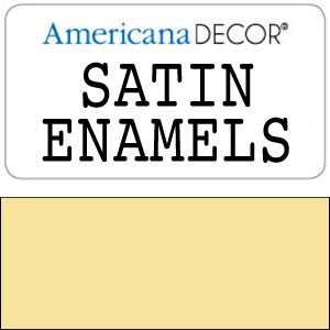 Decor Satin Enamel 8oz - Butter Yellow