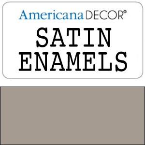 Decor Satin Enamel 8oz - Grey Taupe