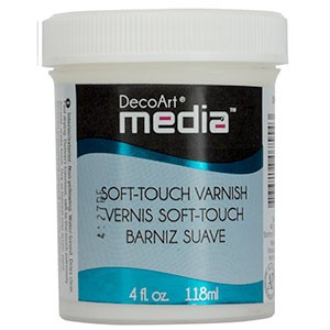Media Varnish Soft Touch - 4oz