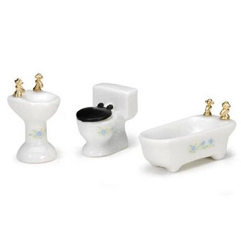 Mini Bathroom Set - 3pc