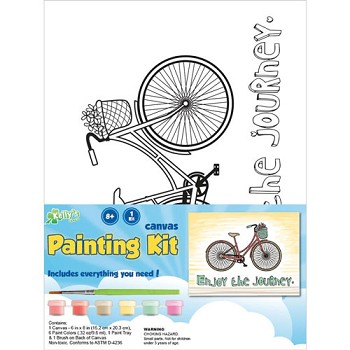 Canvas Painting Kit - Journey