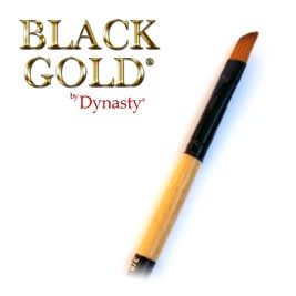 Dynasty Black Gold Angular 3/4""