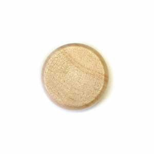 "Crokinole Disk - Clear (1 1/8"" dia. x 13/32"" thick)"