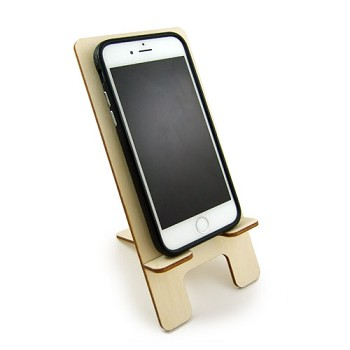 "Cell Phone Stand (2pc slotted) - 7 1/2"" x 3 1/2"""