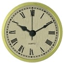 "Clock Fit-Up - 2 3/4"" - Gold/Roman"