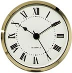 "Clock Fit-Up - 3 1/2"" - White/Roman"