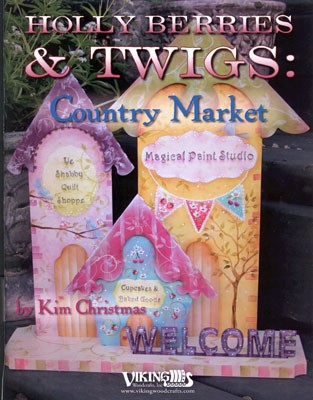 Hollyberries & Twigs Country Market by Kim Christmas