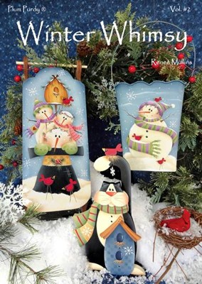 Winter Whimsy #2 by Renee' Mullins
