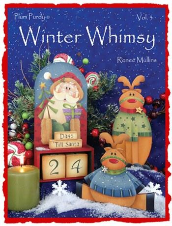 Winter Whimsy #3 by Renee' Mullins