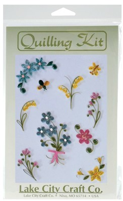 Quilling Kit - Pretty Posies