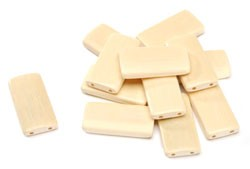 "Bamboo Tiles (Blonde) - 1 5/8"" x 7/8"" - 12pc"