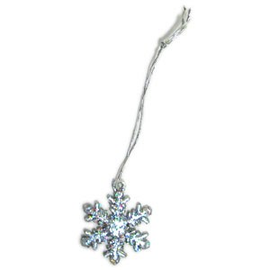Sparkly Snowflakes (4pc) - 1""