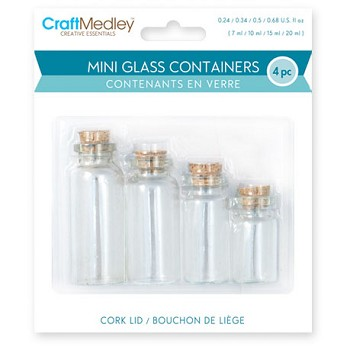 Glass Containers Assorted