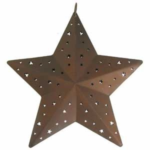 Rustic Country Star - 6""