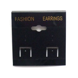"Earring Card (10pc) - 2"" x 2"""