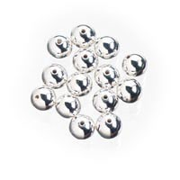 Spacer 4mm Round Silver 52pc