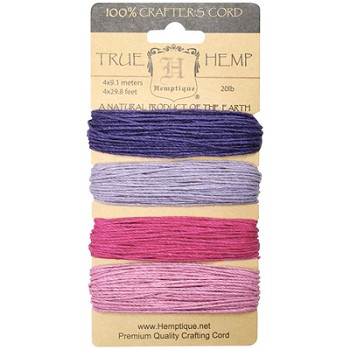 Hemp Cord Set - Berry Bar 20lb - 120'