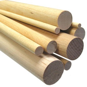 "Birch Dowel - 1"" x 36"" (surcharge may apply)"