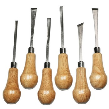 Palm Style Deluxe Woodcarving Set